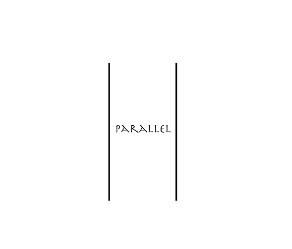 Parallel class logo icon with two vertical lines for class at MSMC