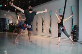 Bounce Bungee fitness class in Singapore